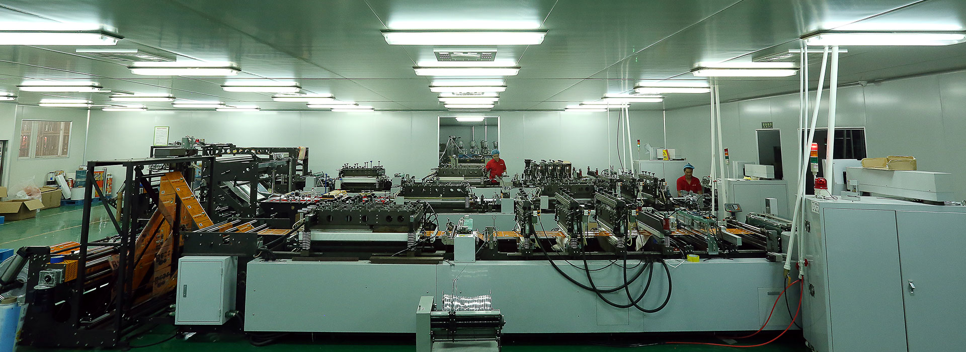 Our State-of-the-art production facilities.